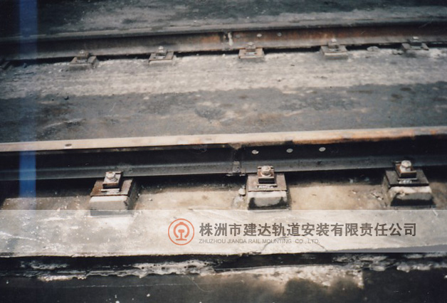 早期原熄焦车轨道改造后现场图