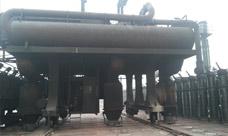 益隆焦化炉顶轨道改造过程中
