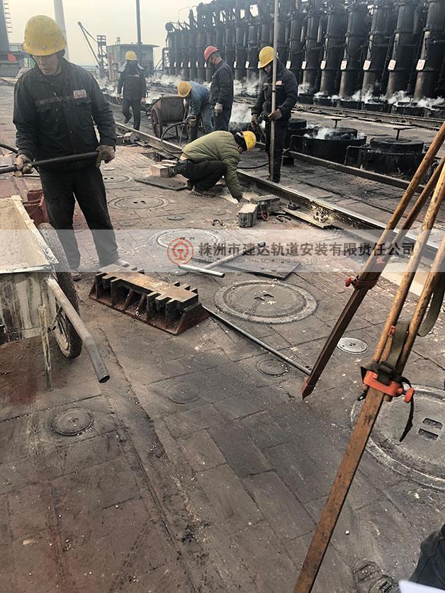 轨道焊接施工之轨道测量二